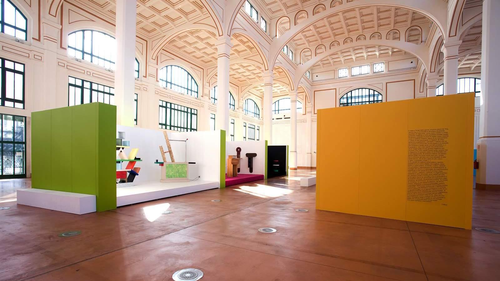 Bottega - Aleestimento Mostra su Ettore Sottsass: 2008 Trieste