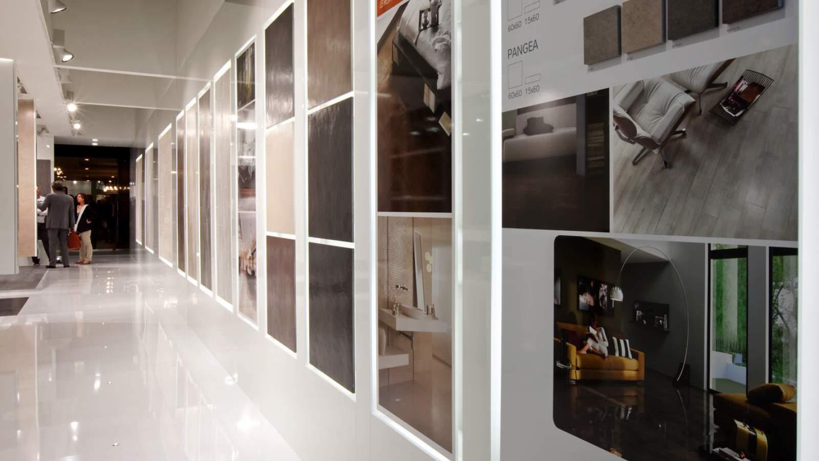 Bottega - Dettaglio allestimento stand Phorma per l'edizione 2011 del Cersaie di Bologna