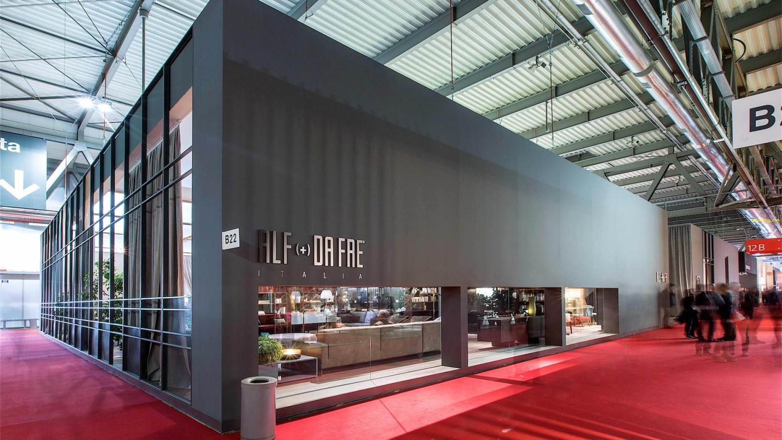 Bottega - Dettaglio allestimento stand Alf (+) Da Frè  per l'edizione 2014 del Salone del Mobile di Milano