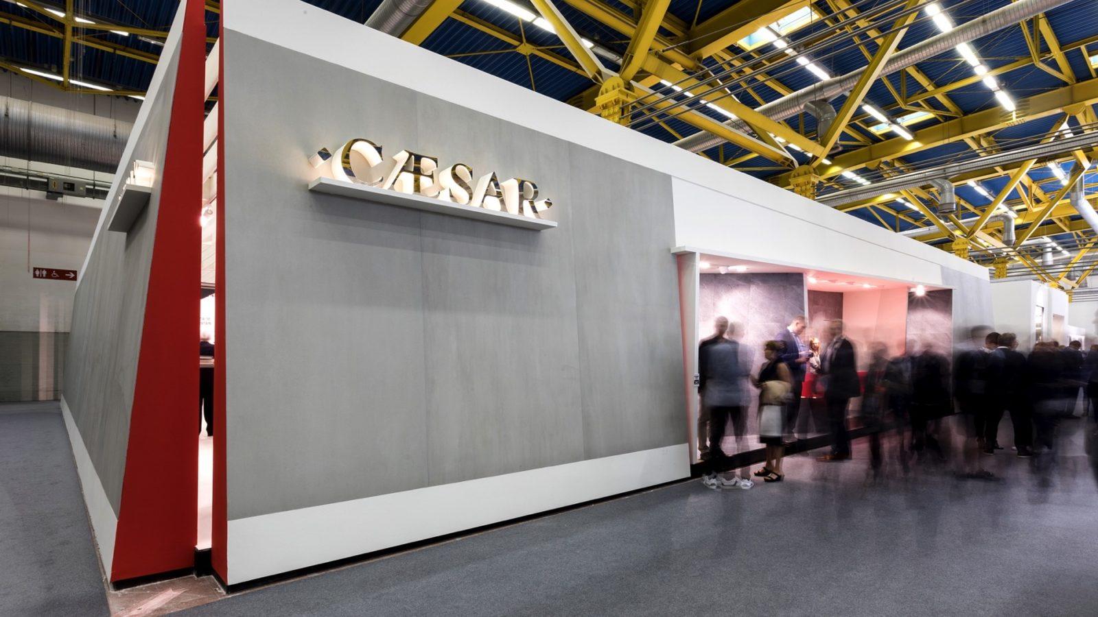 Bottega - Dettaglio allestimento stand fiera  Cesar per l'edizione 2017 del Cersaie di Bologna