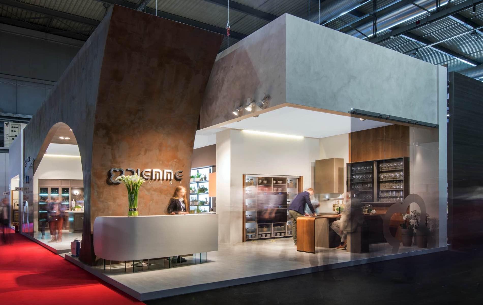 Diemme cucine salone del mobile 2018 milano bottega for Negozi cucine milano