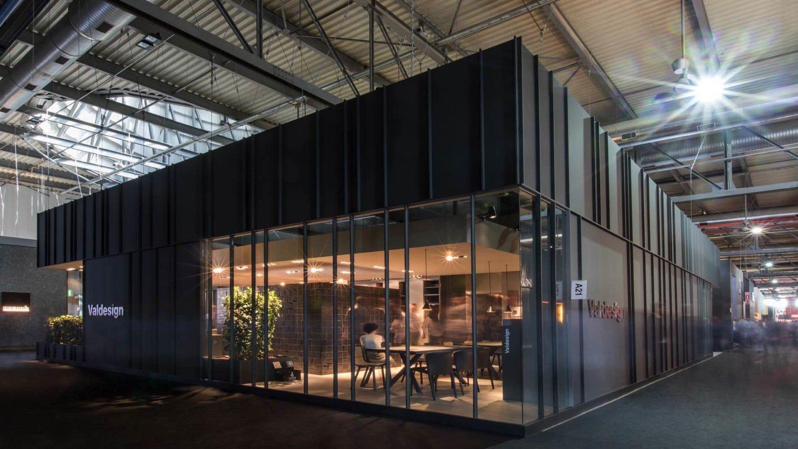 Bottega - Dettaglio allestimento stand Valdesign per l'edizione 2018 del Salone del mobile di Milano